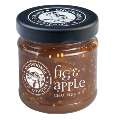 Fig & Apple chutney