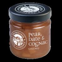 Pear Date & Cognac chutney