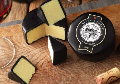 Black Bombe Extra Mature Cheddar Cheese