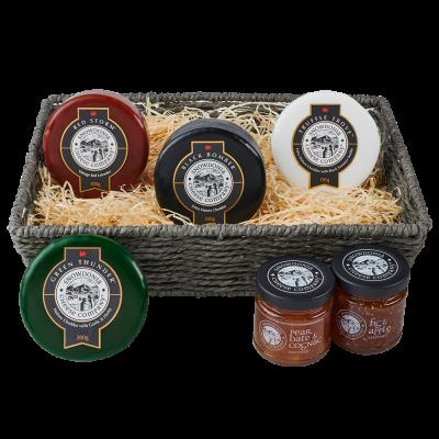 Gourmet Gift basket packshot