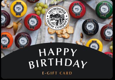 Gift card- Happy Birthday