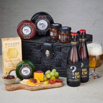 Cheese and Ale hamper - lifestyle