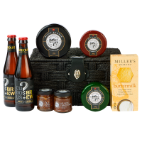 Cheese and ale hamper - pack shot