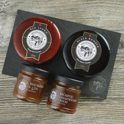 Full Flavour Duo slate with chutney lifestyle